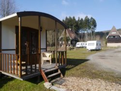 Glamping for four
