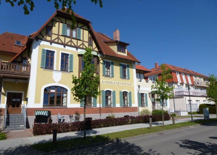 Kaiserliches Postamt DZ 23 – Ferienwohnung in Kühlungsborn